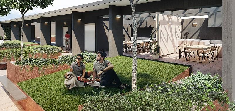 Jardines interiores en edificios