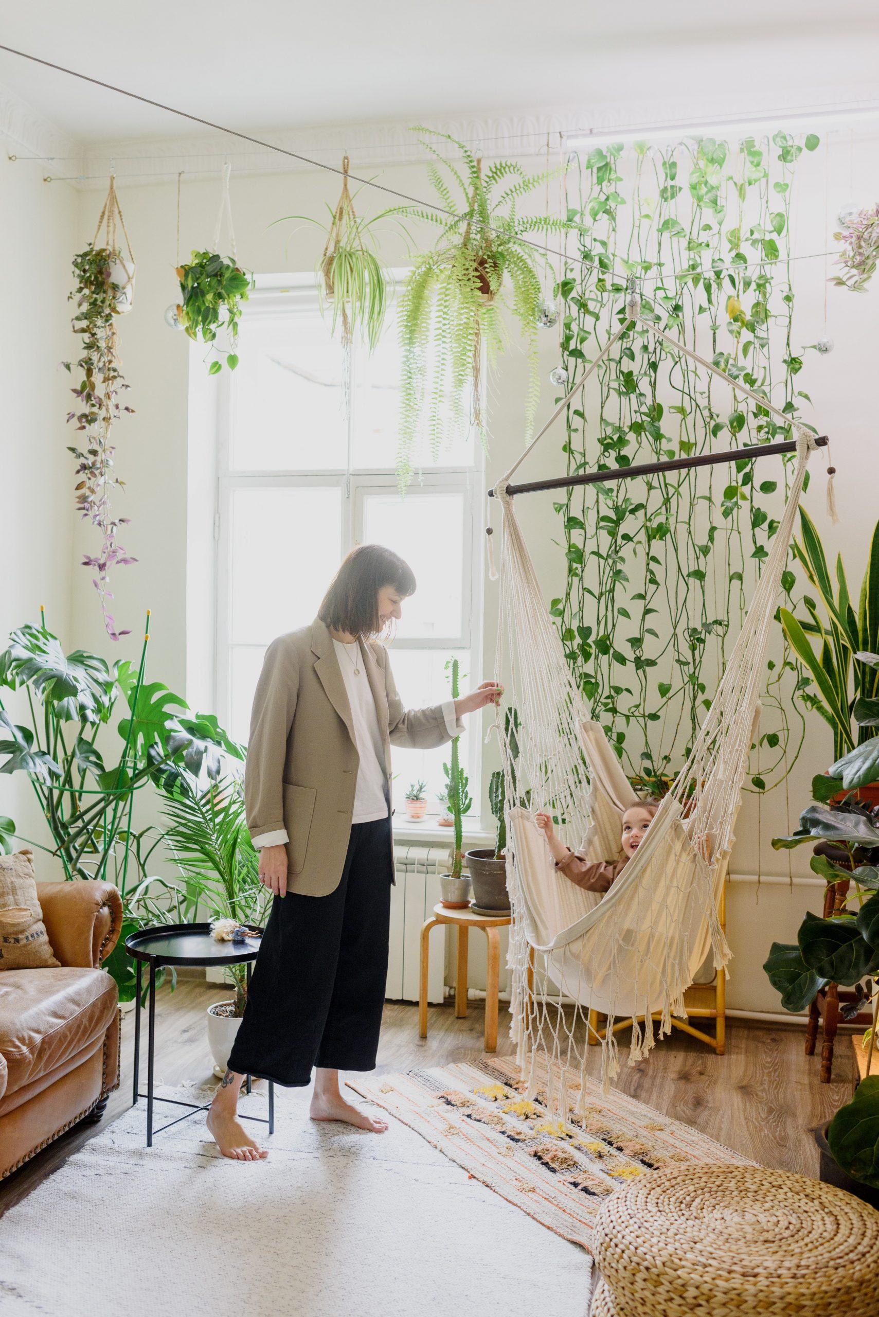Vivir con plantas